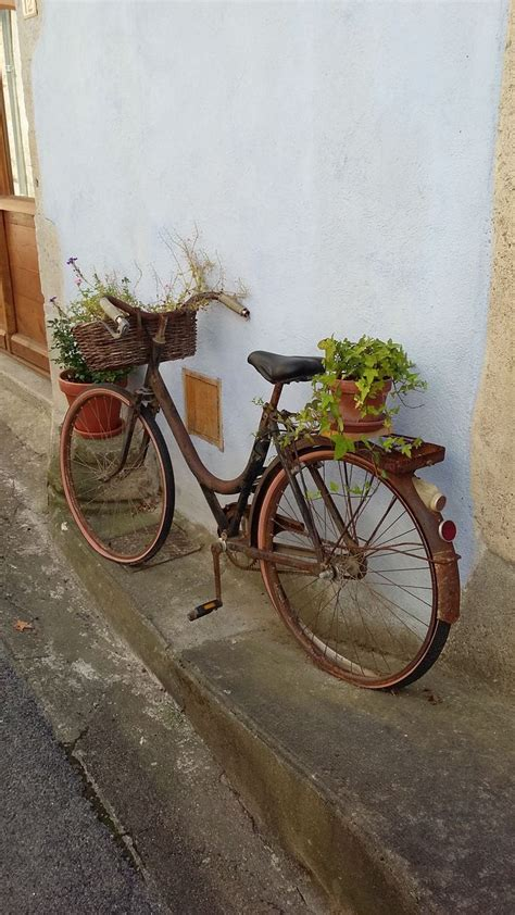 Bicycle Flower Planter by Best 25 Bike Planter Ideas On