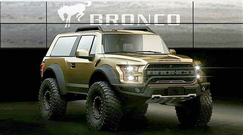 How Much Will A 2020 Ford Bronco Cost by 2020 Ford Bronco Front Rear Bumpers