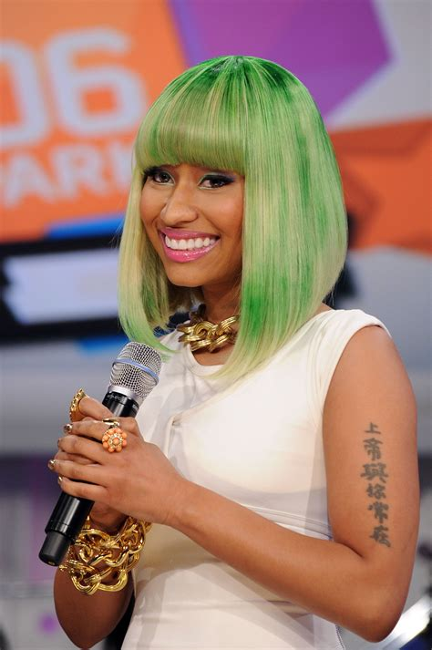 nicki minaj arm tattoo bad showcase