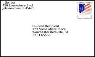 how to make a letter envelope how to write the address on a letter or envelope