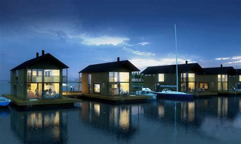 14 inspiring floating lake house to decide best floating