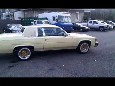 1984 cadillac coupe deville youtube