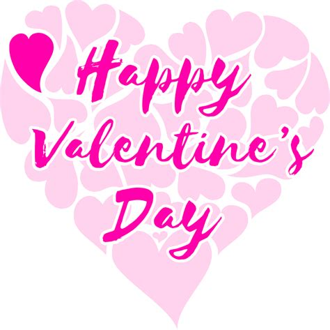 happy valentines day clipart clipart happy s day title with hearts