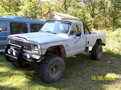 jeep honcho lifted 1980 jeep j10 information and photos momentcar