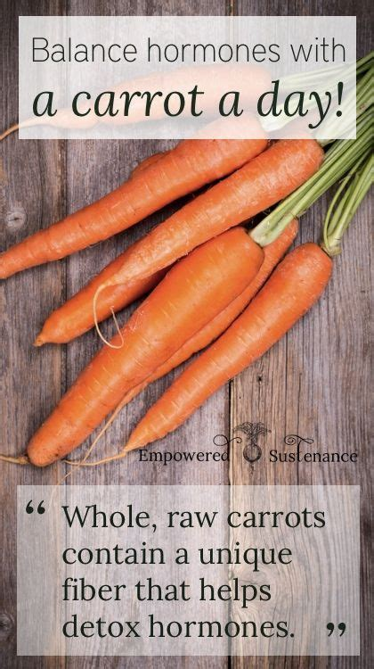 Detox Diet For Hormone Balance by Balance Hormones With A Carrot A Day Health