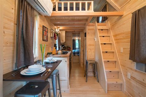 Small Log Cabin Plans With Loft tiny house village offers rentals to try quot tiny life quot in mt