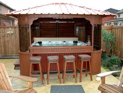hot tub gazebo plans with seats home interior exterior