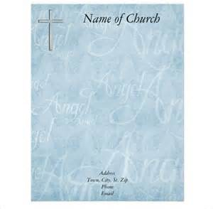christian letterhead templates free 11 church letterhead templates free sle exle