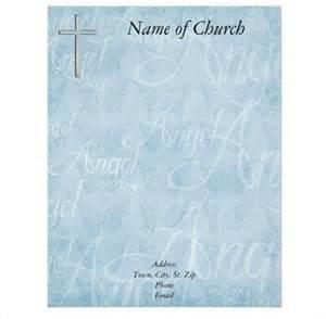11 church letterhead templates free sle exle