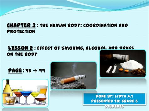 Why Does Tobacco Change Effects Of Detox Drinks by Effects Of And Drugs On The