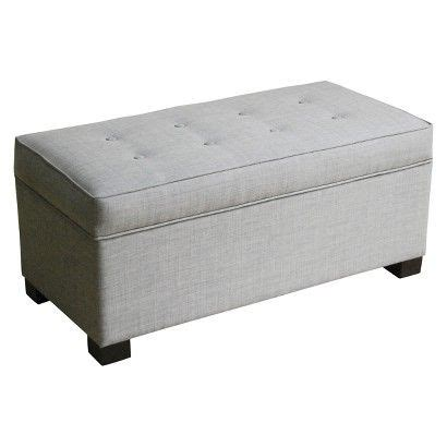 Gray Storage Ottoman Threshold Large Storage Ottoman