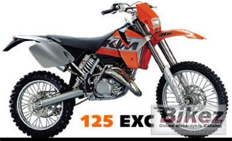 2000 Ktm 125 Sx Specs 2000 Ktm 125 Exc Specifications And Pictures