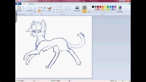 speedpaint warrior cats jayfeather ms paint hd