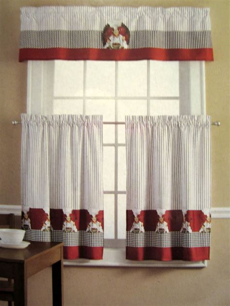rooster curtains for kitchen rooster print curtains white lace clent walmart kitchen curtains for kitchen decoration ideas