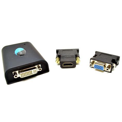 Usb Display Adapter mini usb to dvi display adapter 1920x1080 hd la