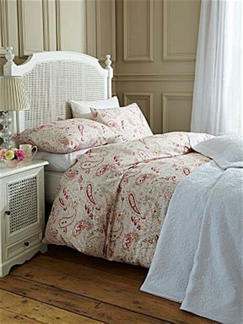 paisley bed linen paisley pink bed linen house of fraser