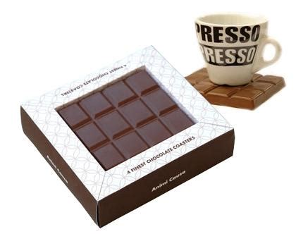 Chocolate Coaster It Or It by Doces