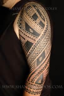 maori polynesian tattoo polynesian sleeve tattoo