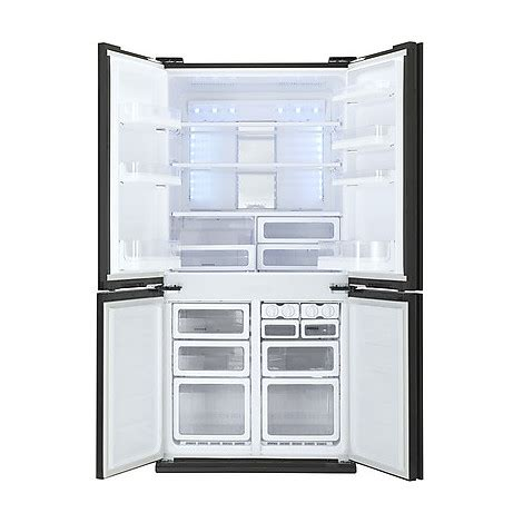 frigo 4 porte sharp sharp frigorifero 4porte sj fj810vbk classe a