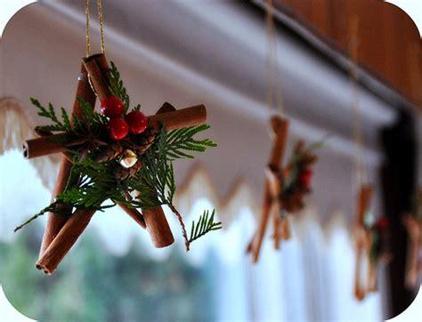 rosy posy cinnamon christmas stars