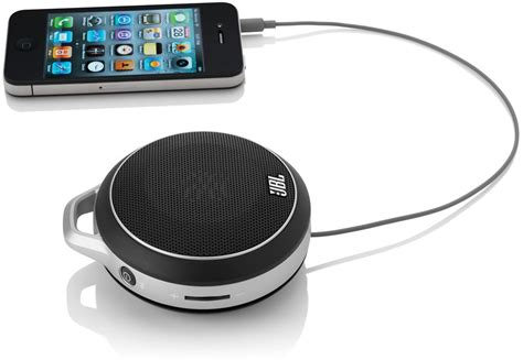Jbl Micro Wireless external audio support for iphone