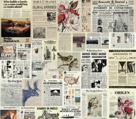Vintage Newspaper Wallpaper Wallmaya Wall Paper European Retro Newspapers Wallpaper Mural Wall Stickers Wallpaper Papel De Parede
