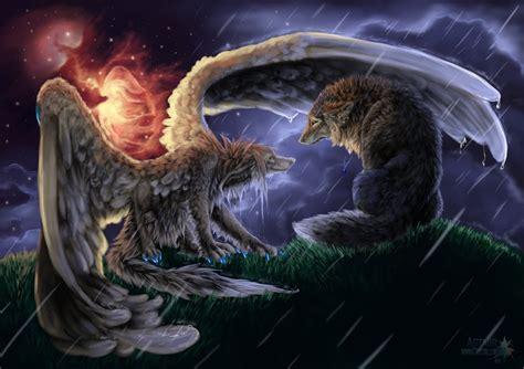 imagenes animal espiritual image original umbrella d illustration wolf werewolf