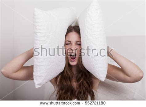How To Be Aggressive In Bed by Bed Sleeping After Quarrel Stock Photo 552720202