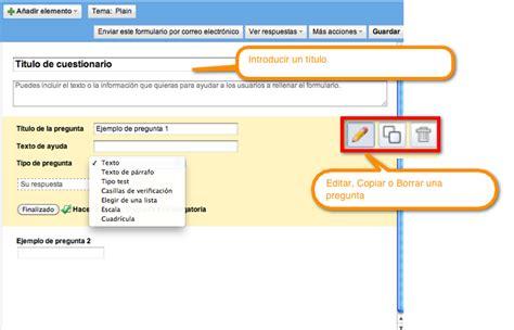hacer preguntas en google crear formularios universo google