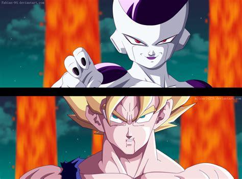 Goku Vs Frieza goku vs freezer collab by fabiansm on deviantart