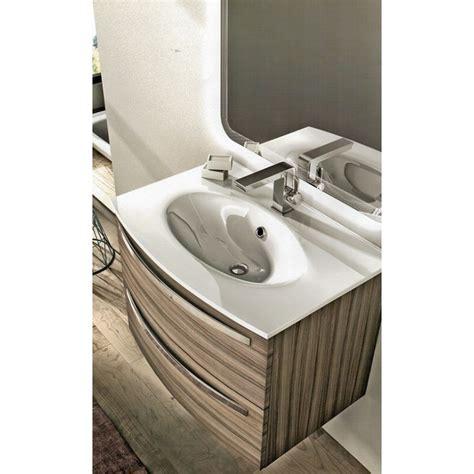 mobile bagno 100 cm baden haus mobile da bagno sospeso 75 cm larice