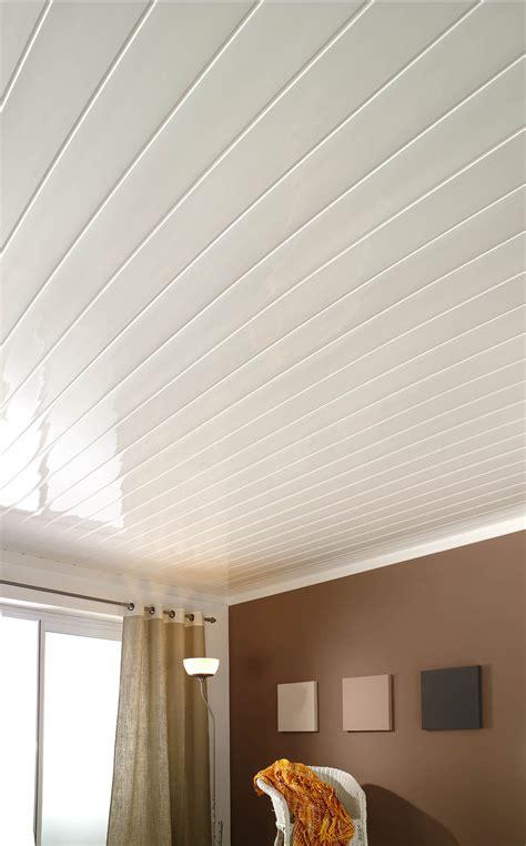 Revetement Plafond Pvc by Chambre Lambris Blanc Stunning Amazing Lambris Blanc Lit