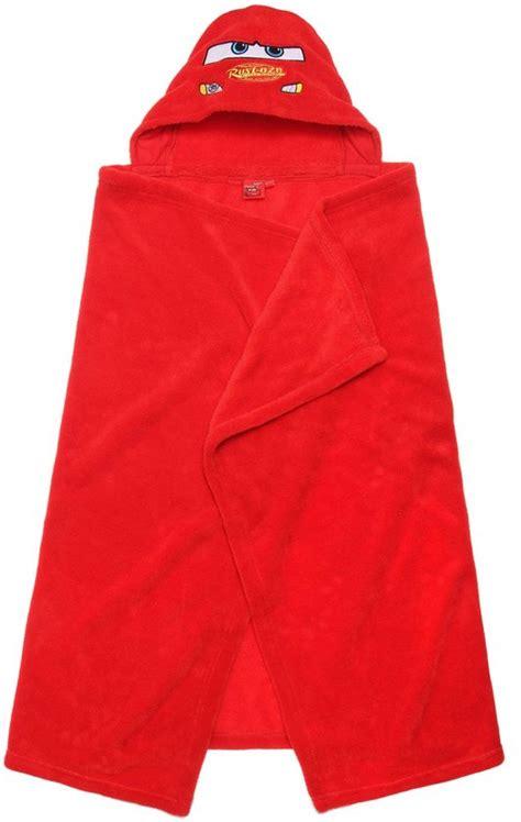 poncho handdoek bol disney cars poncho handdoek met capuchon rood
