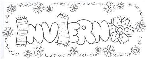 imagenes infantiles invierno para imprimir bibliotecadonalvaro las estaciones del a 241 o para imprimir