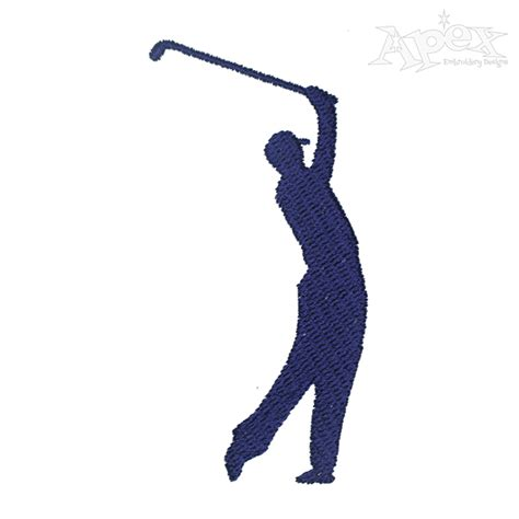embroidery design golf golf cart embroidery design