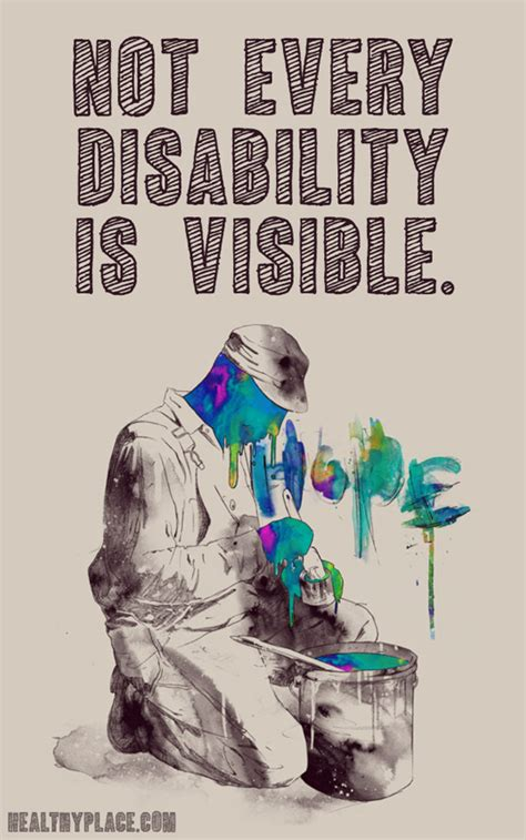 in sickness and in health disability and a quest to understand the perils and pleasures of interabled books quote on mental health not every disability is visible