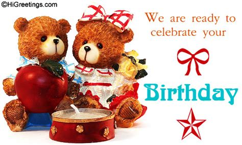 Animated Child Birthday Card Animated Birthday Cards For Kids