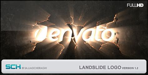 earthquake effect premiere landslide logo by vidnoadesign videohive