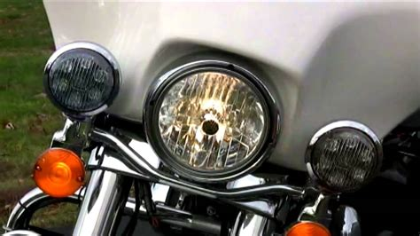 police motorcycle emergency lights whelen motorcycle box led police lights youtube