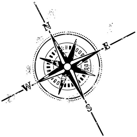 compass rose nautical tattoo symbols tattoomagz
