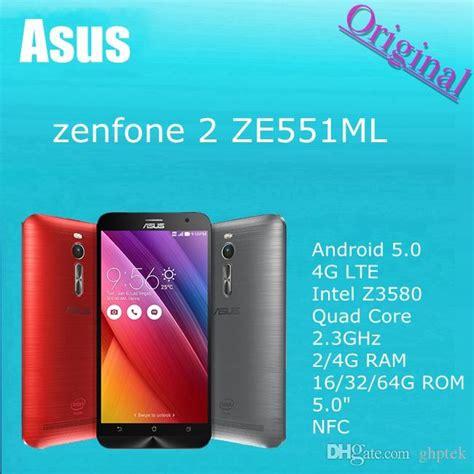 Asus Zenfone 2 Ze551ml 4glte Ram 2 Gb Rom 32 Gb best 100 original asus zenfone 2 ze551ml android 5 0 4g lte intel z3580 1 8ghz 2 4gb