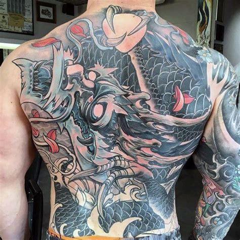 japanese dragon tattoos for men japanese badass back tattoos for gentlemen