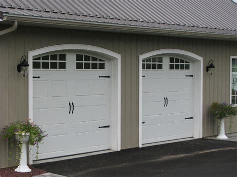 Post Frame Building Door Options Conestoga Buildings Frame A Garage Door