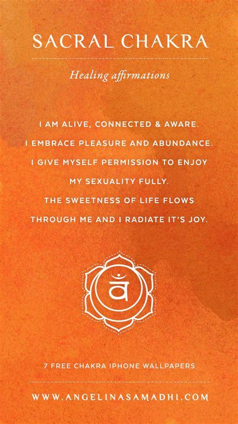 Symptoms Of Detoxing Unblocking Throat Chakra by Sacral Chakra Healing Affirmations Chakra Affirmations