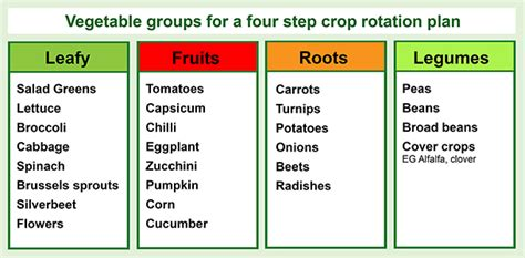 four step crop rotation