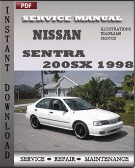 nissan sentra 200sx 1998 factory manual download repair service manual pdf