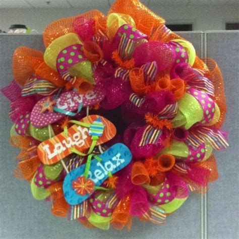 mesh wreath ideas mesh wreaths summer mesh wreath craft