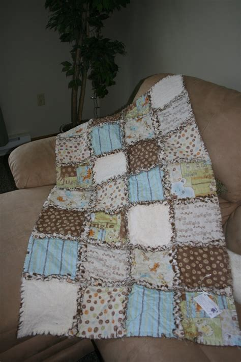 Baby Rag Quilt For Sale by Baby Rag Quilt 85 00 Via Etsy Quilts For Sale