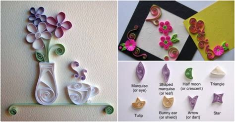 Quilling Paper Craft Tutorial - paper quilling tutorial how to