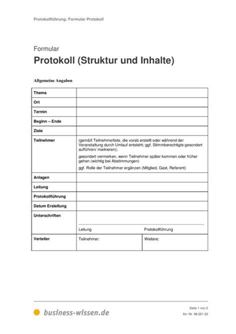 protokollfuehrung management handbuch business wissende